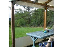 Gazebo Side Panels - Panoramic Window