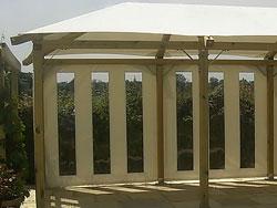 Gazebo Side Panels - Vertical Window