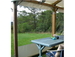 Gazebo Side Panels - Panoramic Window