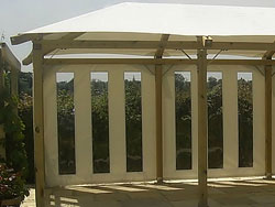 Gazebo Side Panels - Vertical Window